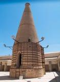 Stary ceramiczny komin, Seville, Hiszpania zdjęcie royalty free