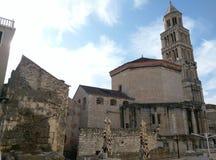 Stary chatedral w świacie Obrazy Royalty Free