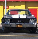 Stary Chevrolet samochód Zdjęcia Stock