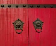 stary chiński drzwi Zdjęcia Royalty Free