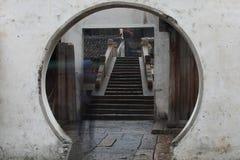 Stary Chiny wody miasteczko Obraz Royalty Free