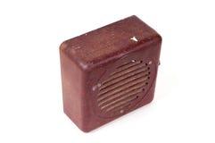 stary ciężki stary radio Zdjęcia Stock