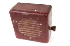 stary ciężki stary radio Zdjęcie Royalty Free