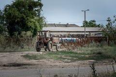 Stary ciągnik Zdjęcie Stock
