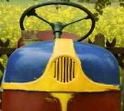 stary ciągnika Zdjęcia Royalty Free