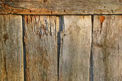 stary ściana drewna Obraz Stock