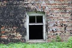 stary ściana okien Zdjęcie Stock