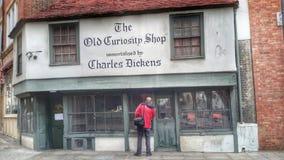 Stary ciekawość sklep Obrazy Royalty Free