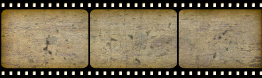 stary cine film obraz royalty free