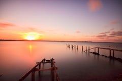 stary Cleveland jetty Fotografia Stock