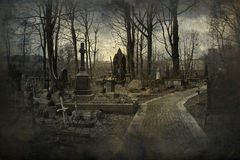 stary cmentarz Fotografia Stock