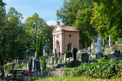 Stary cmentarz, Banska Bystrica Obrazy Stock