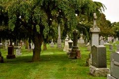 Stary cmentarz St Boniface w Chicago18 obrazy stock