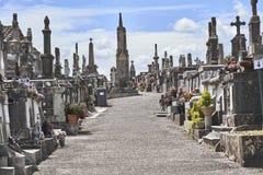 Stary cmentarz w Europa Obraz Stock
