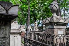Stary cmentarz w St Petersburg Fotografia Stock