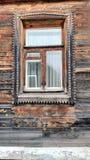 Stary colorfull okno Fotografia Royalty Free