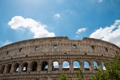 Stary Colosseum w Rzym Włochy Fotografia Stock
