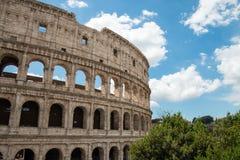 Stary Colosseum w Rzym Włochy Zdjęcie Royalty Free