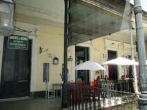 Stary conventillo sąsiedztwo San Telmo Buenos Aires Argentinan przejście obrona Obrazy Stock