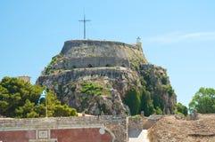 stary Corfu forteca Fotografia Royalty Free