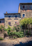 Stary Cortona miasteczko w Tuscany Zdjęcia Royalty Free