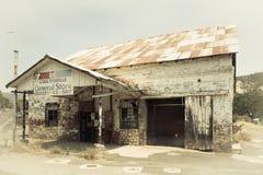 Stary Coulterville CA sklep Obrazy Stock