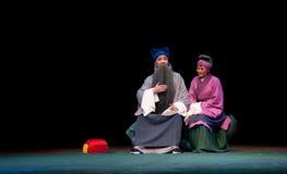 Stary coupleï ¼ šJiangxi opery popiółu pawilon Fotografia Royalty Free