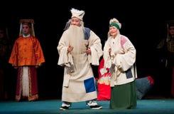 Stary coupleï ¼ šJiangxi opery popiółu pawilon Zdjęcia Stock