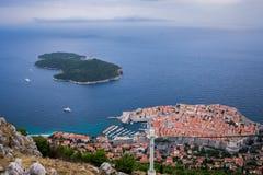 stary Croatia miasteczko Dubrovnik zdjęcie royalty free