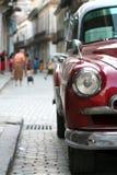 stary Cuba headlamp Zdjęcie Stock