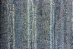 Stary cynk powierzchni tło Zdjęcie Royalty Free