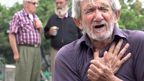 Stary Człowiek I atak serca zdjęcie wideo