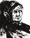 stary człowiek ilustracji