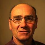 stary człowiek kontrastów portret Zdjęcia Royalty Free