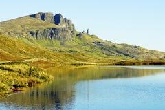 Stary Człowiek Storr, wyspa Skye, Szkocja Zdjęcia Stock