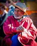 Stary człowiek w Marrakesh 2 Obrazy Stock