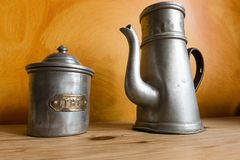 Stary czajnik Fotografia Stock