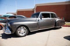 Stary czarny gorącego prącia samochód fotografia royalty free