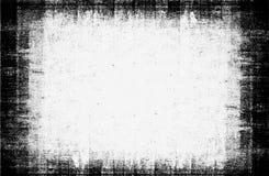 Stary czarny i biały grunge tło fotografia stock