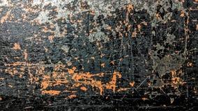 Stary czarny i pomarańcze pasiasty stalowy prześcieradło royalty ilustracja