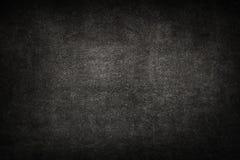 Stary czarny tło Grunge tekstura zmrok tapeta blackboard fotografia stock