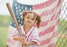 Stary czasu baseball Fotografia Stock