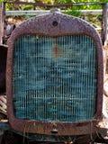 Stary czasu ciągnika grzejnik Zdjęcia Stock