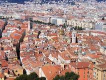 stary czerwieni dachu miasteczko Fotografia Royalty Free