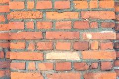 Stary czerwony ściana z cegieł Fotografia Royalty Free
