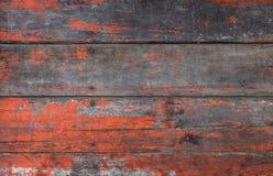 Stary czerwony drewniany Zdjęcia Royalty Free