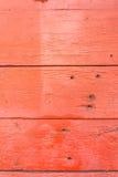Stary czerwony drewniany wzór Zdjęcie Stock