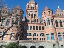 Stary Czerwony muzeum Dallas okręgu administracyjnego kultura i historia Obrazy Royalty Free