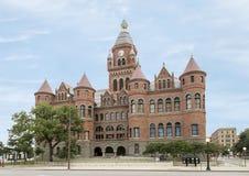 Stary Czerwony muzeum, Dallas, Teksas Obrazy Stock