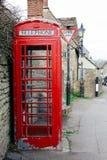 Stary Czerwony Phonebox Fotografia Royalty Free